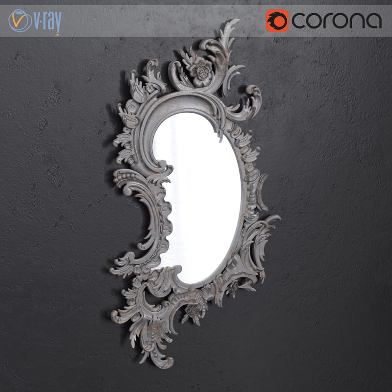 3D model stavros classical mirror