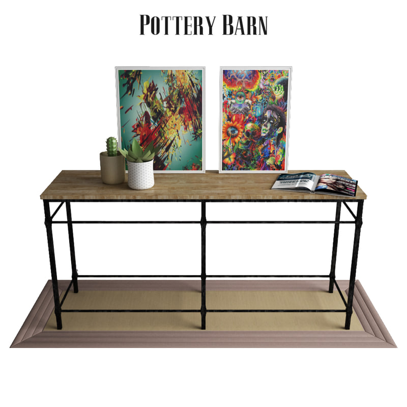 Parquet Reclaimed Wood Console Table D Model TurboSquid - Parquet reclaimed wood rectangular coffee table