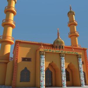 mosque arab 3D