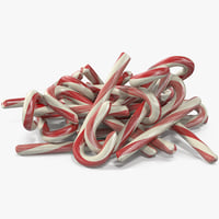 3D christmas candies 4