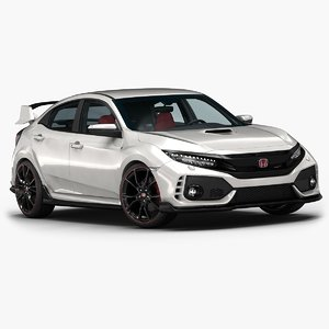 2018 honda civic type r 3D
