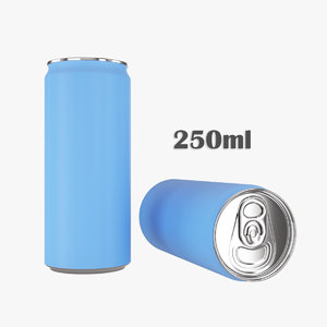 3D model beverage slim 250ml
