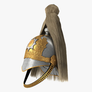 british life guard cavalry 3D model