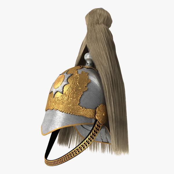 british life guard cavalry 3D model