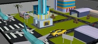 3D airport environment