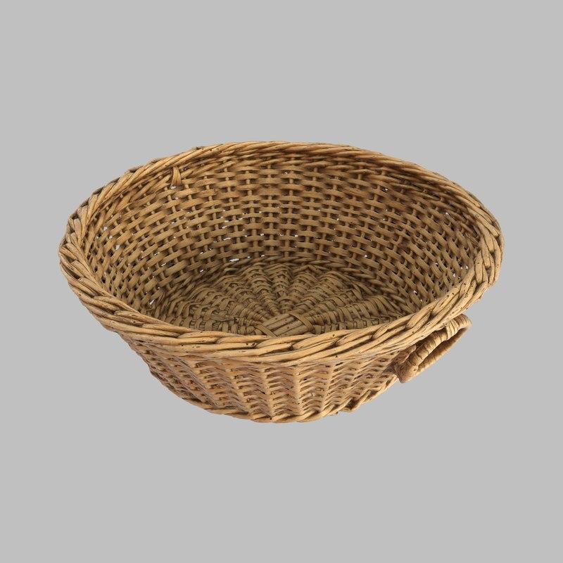wicker basket model