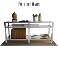 3D pottery barn tanner long