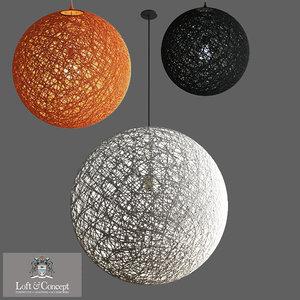random light brown 3D