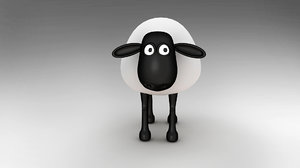 sheep character 3D model