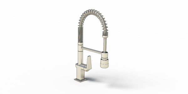 3D model faucets dishwasher 2