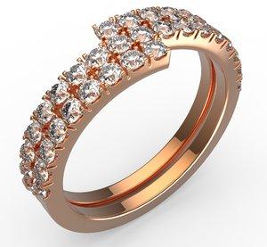 oval ring 3D model