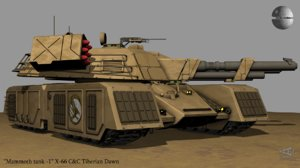3D gdi tank x-66