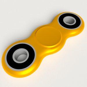 spinner fidget 3D model