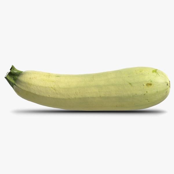 3D magda zucchini
