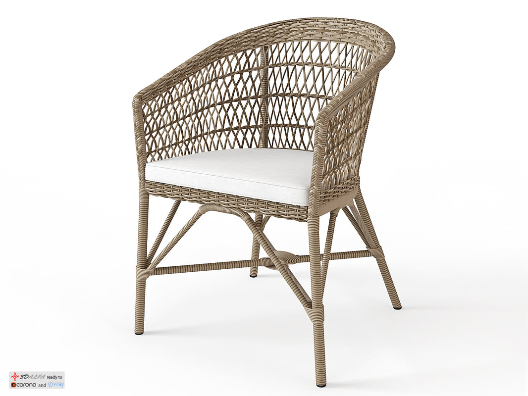 sika design emma chair 3D model
