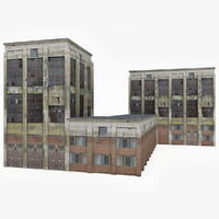 ready factory building 3D