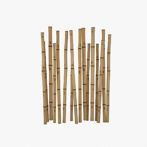 3D bamboo stem