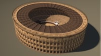 3D reconstruction roman colosseum