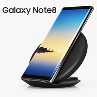 Samsung Fast Charge Convertible and Samsung GALAXY Note 8