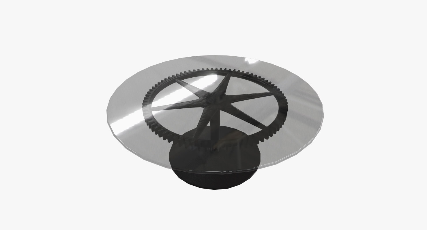 gear coffee table model