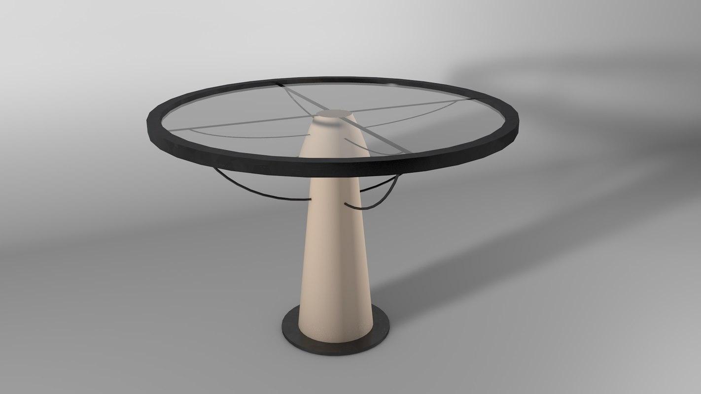 steel glass arquitecture 3D model