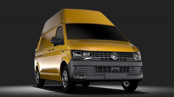 volkswagen transporter van model