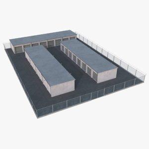 3D model storage facility 2