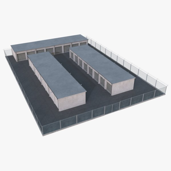 3D model storage facility 2