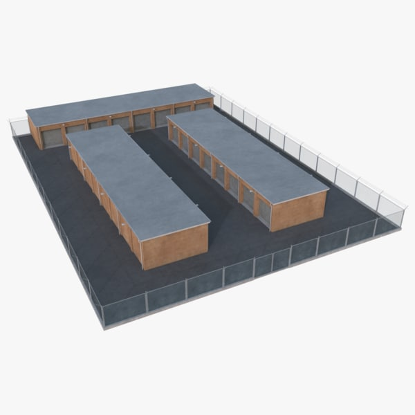 storage facility 3 3D