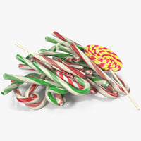 3D christmas candies 5