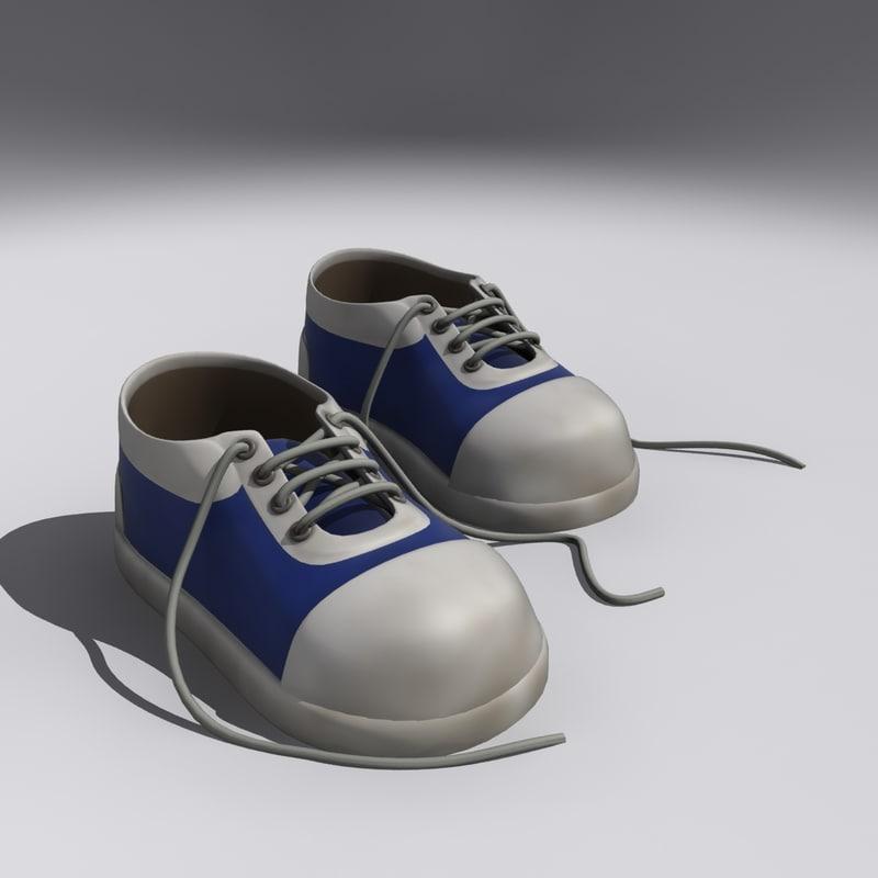 tennis shoes 3D