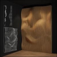 3D parametric wall model