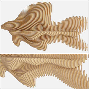 parametric wall decor model