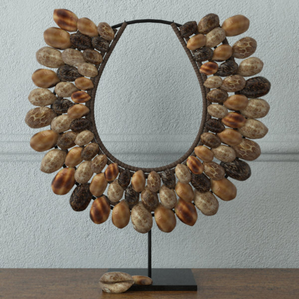 3D model native shell decor
