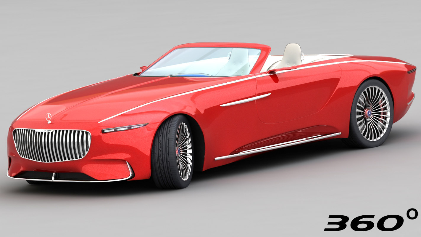 mercedes-maybach vision 6 2018 3D model