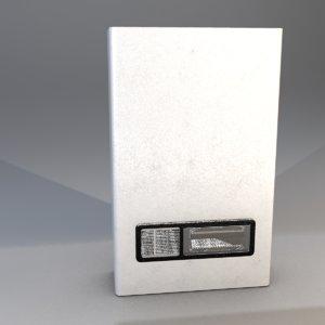 water heater 3D