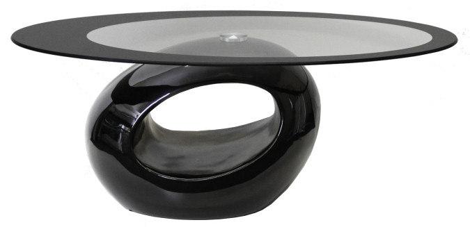 nero glass coffee table 3D model