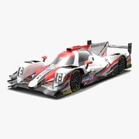 tds racing lmp2 wec 3D model