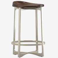 3D model pepper counterstool holly hunt