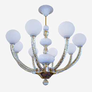 chandeliers lights sylcom gritti1537 3D