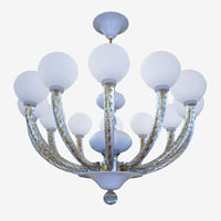 chandeliers lights sylcom gritti1537 model