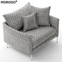 moroso gentry 105 two seater chair