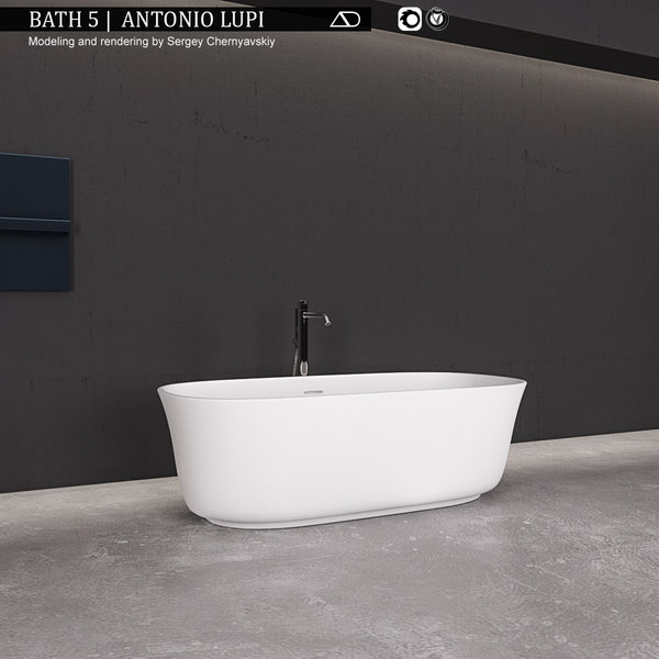bath 5 antonio 3D model