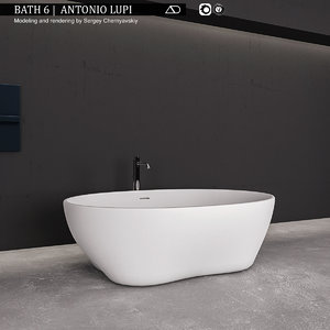 bath 6 antonio lupi 3D model