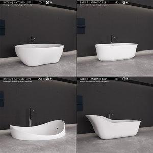 3D model bath 2 antonio lupi