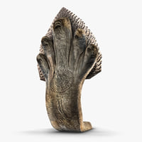 stone snake 3D model