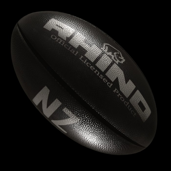 3D rugby ball new