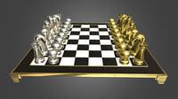 chess set model