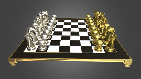chess set model