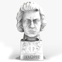 Beethoven Sculpture Figurine